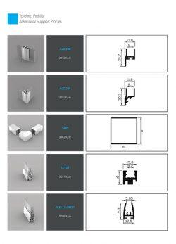 Alüminyum profillerin aksam ve parçaları - Alucorex Aluminium