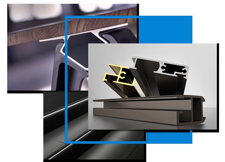 پروفیلهای آلومینیومی آلوکورکس ترکیه - Alucorex Aluminium Systems