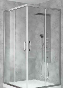 کابین دوش polo آلوکورکس ساخت ترکیه - polo Shower cabin Alucorex Aluminium Systems