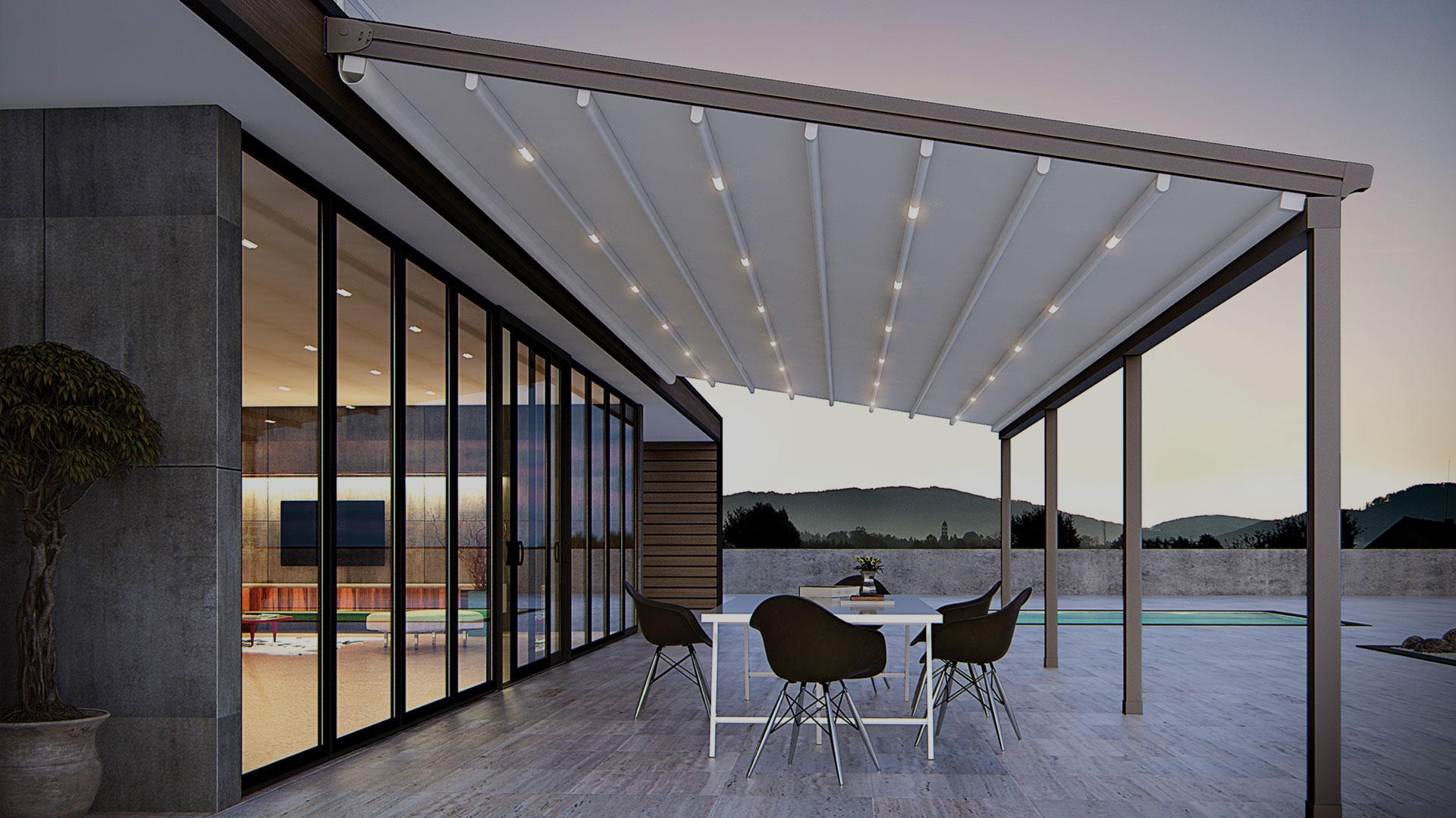 پروفیل سقفهای متحرک ساخت ترکیه - Alucorex Aluminium Systems
