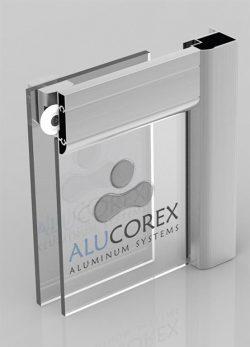 کابین دوش verde آلوکورکس ساخت ترکیه - verde Shower cabin Alucorex Aluminium Systems