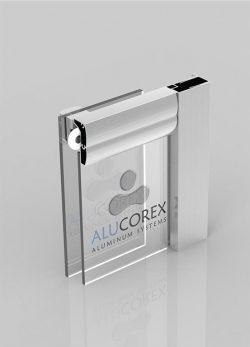 viola Shower cabin Alucorex Aluminium Systems